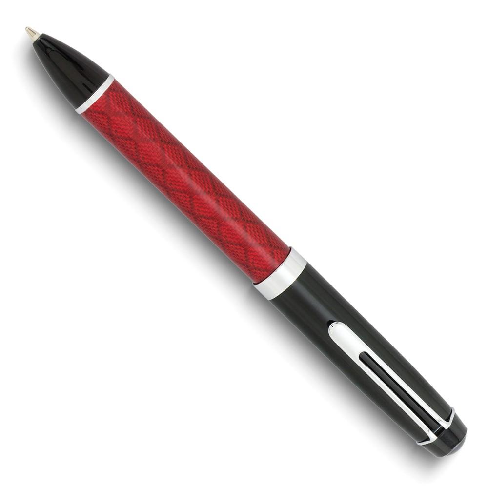 Charles Hubert Red Ballpoint Pen