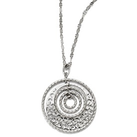 Sterling Silver Necklace w/ 2in ext