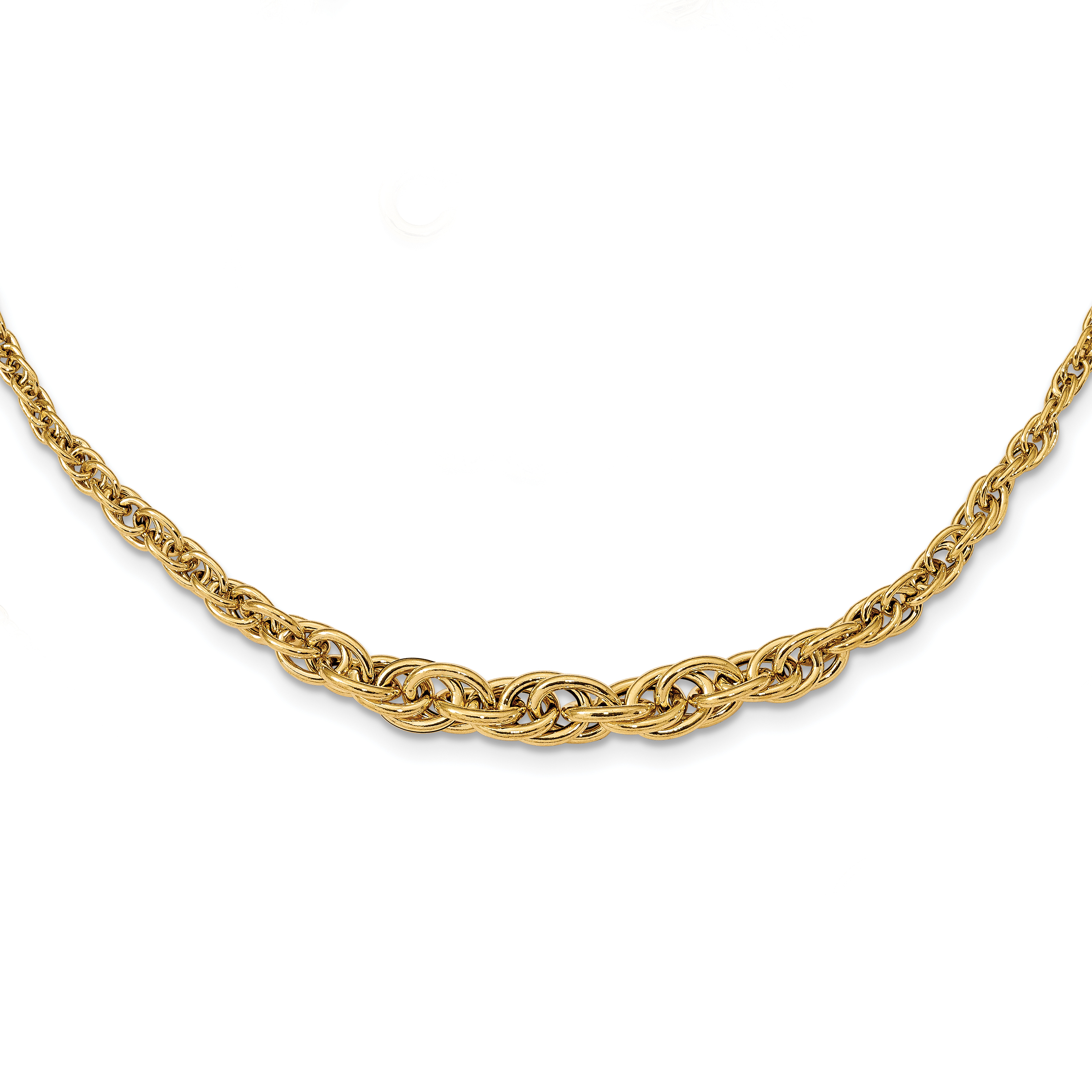 Leslie's 14K Polished Fancy Necklace