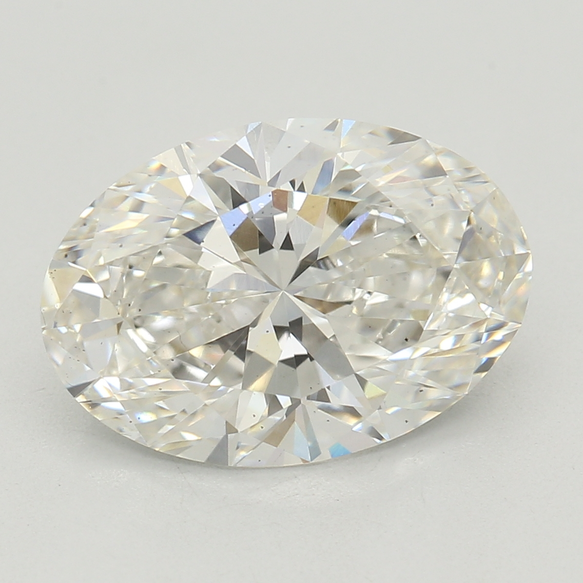Oval Cut 1.83 Carat I Color Vs2 Clarity Sku Lg3956286