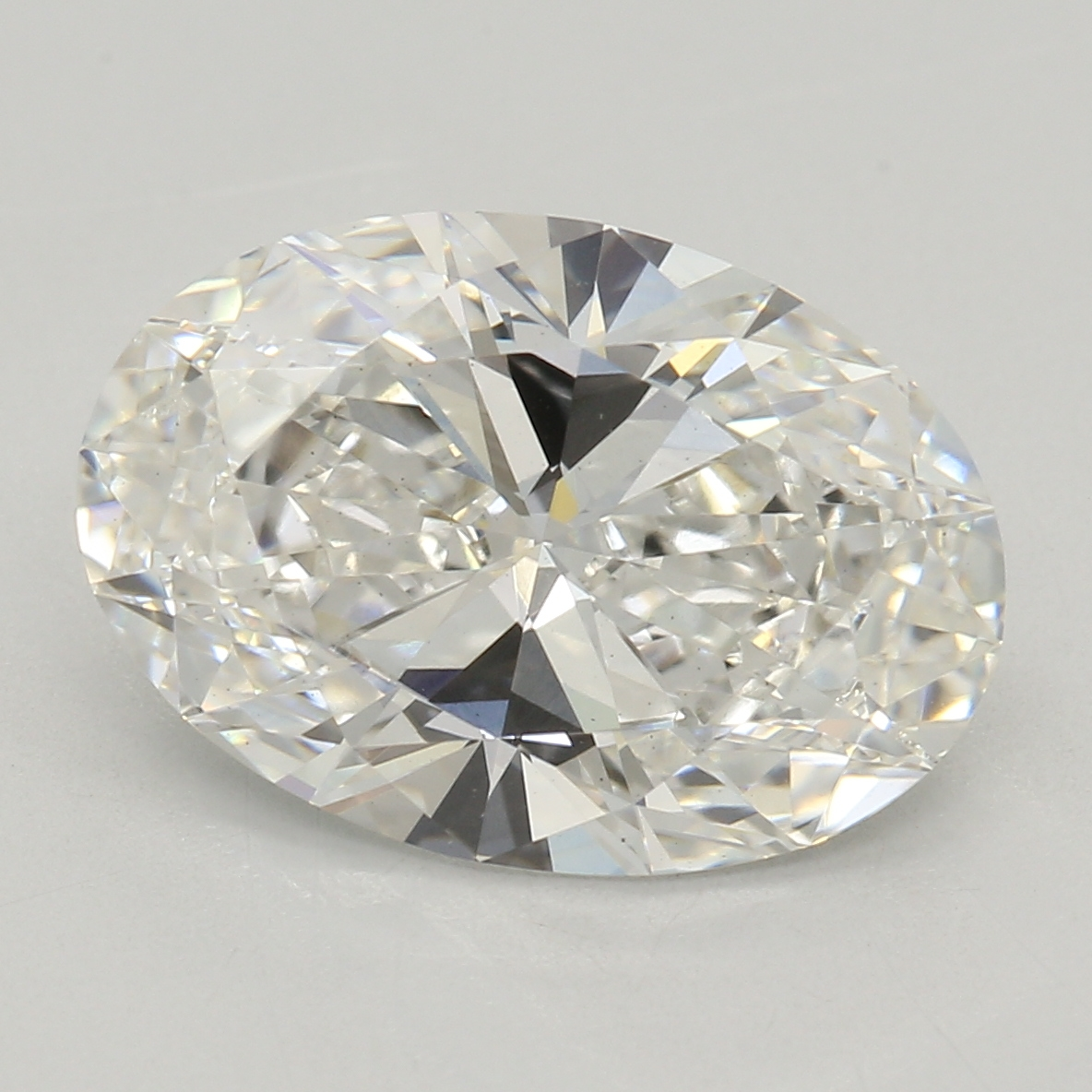 Oval Cut 2.02 Carat G Color Vs1 Clarity Sku Lg3650327