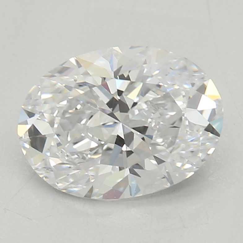 Oval Cut 0.71 Carat F Color Vs2 Clarity Sku Lg8449498