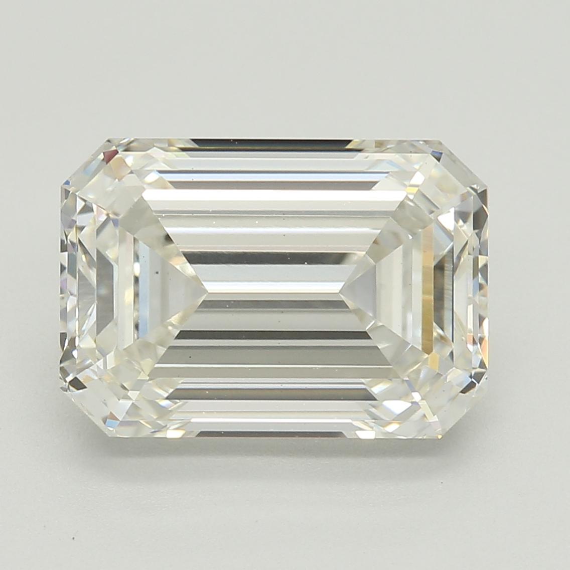 Emerald Cut 3.07 Carat J Color Vs1 Clarity Sku Lg09335453