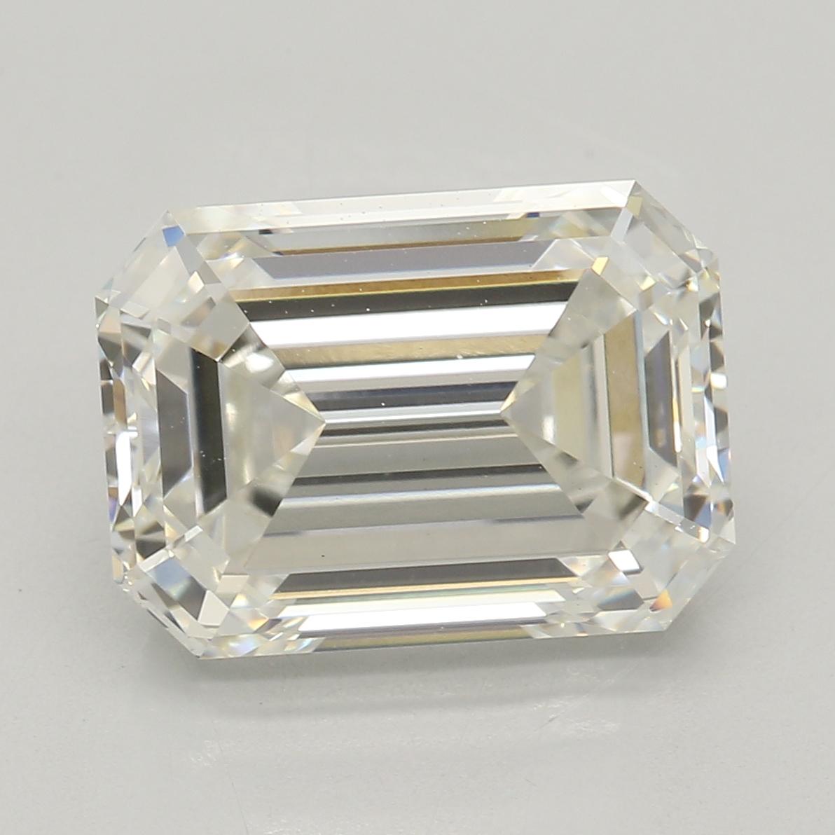 Emerald Cut 3.08 Carat J Color Vs1 Clarity Sku Lg46333180