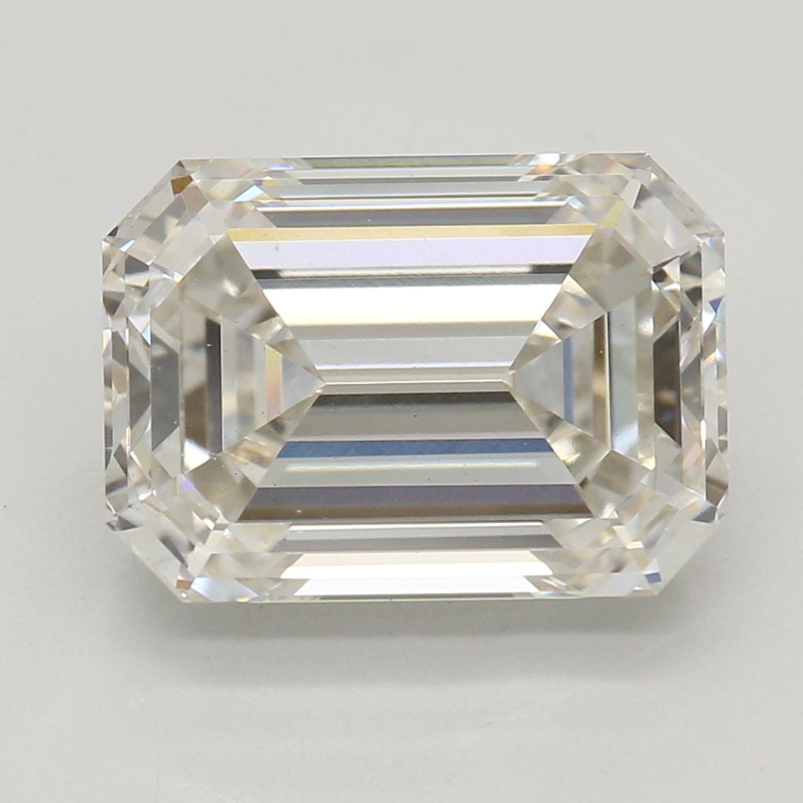 Emerald Cut 3.05 Carat J Color Vs1 Clarity Sku Lg52733184