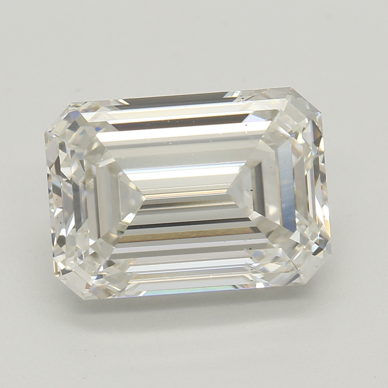 Emerald Cut 3.12 Carat I Color Vs2 Clarity Sku Lg55215271