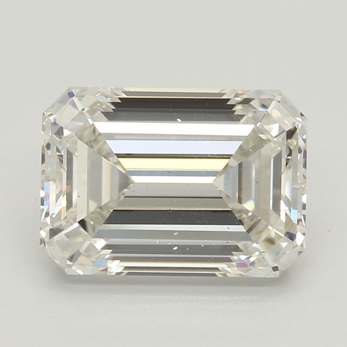 Emerald Cut 3.01 Carat I Color Vs2 Clarity Sku Lg96232995