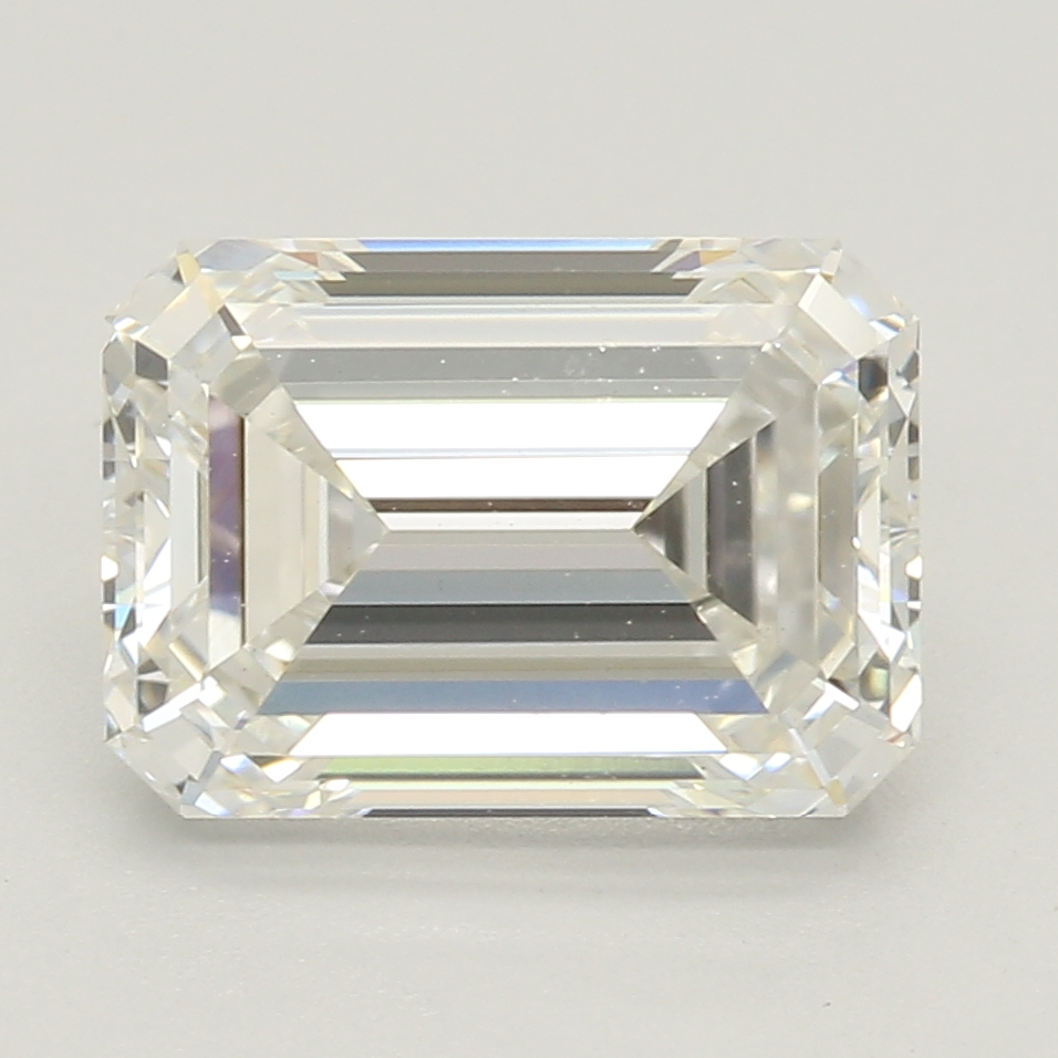 Emerald Cut 2.07 Carat H Color Vvs2 Clarity Sku Lg5469766
