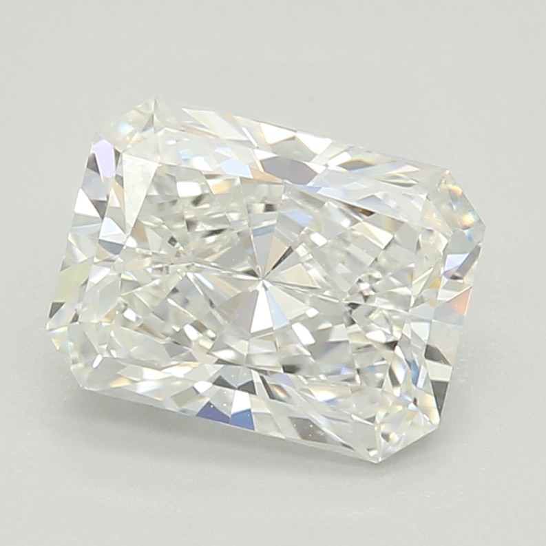 Radiant Cut 1.01 Carat F Color Vvs2 Clarity Sku Lg43637363