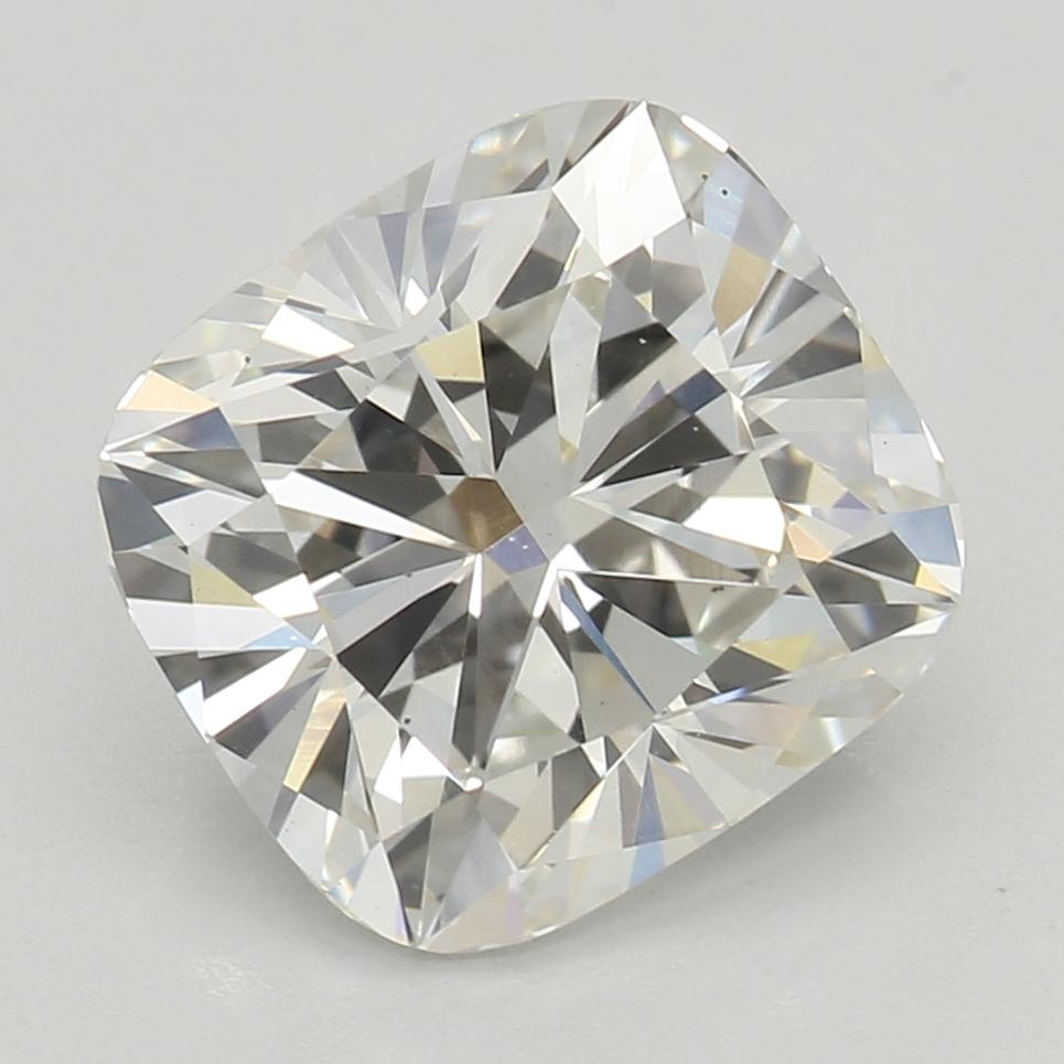 2.08 Carat H-VS2 Ideal Cushion Diamond