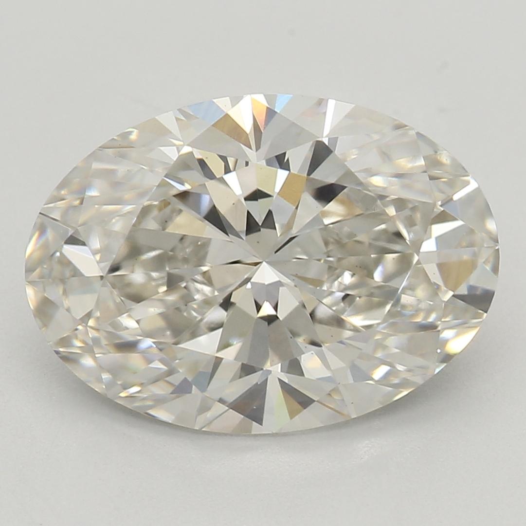 2.55 Carat I-VS1 Ideal Oval Diamond