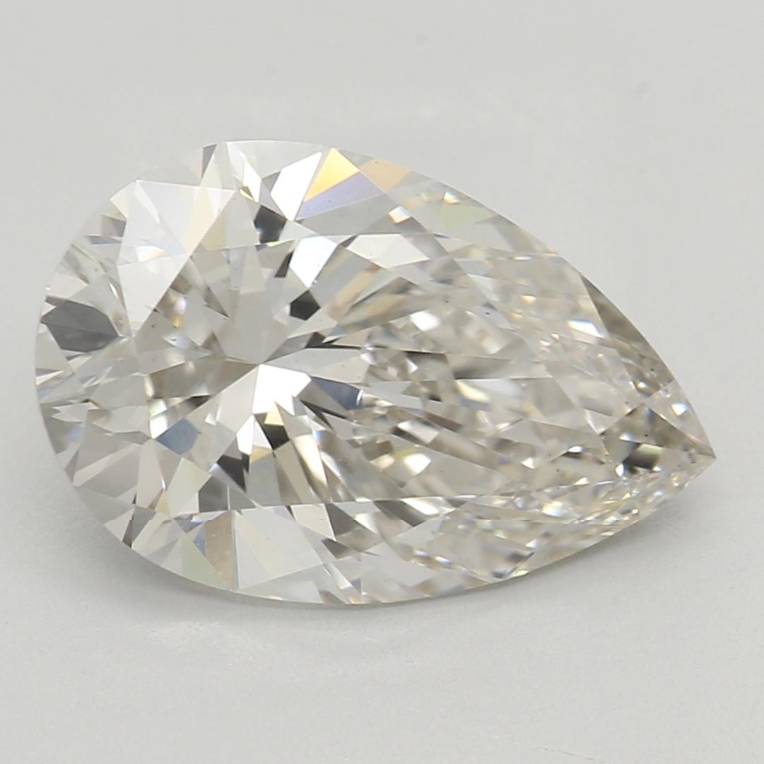 2.06 Carat I-VS1 Ideal Pear Diamond