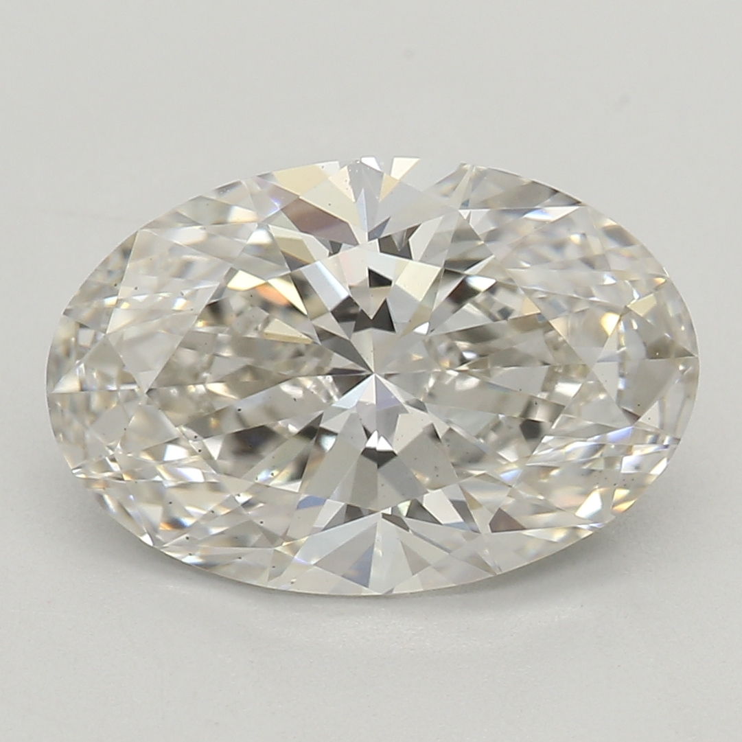 2.01 Carat I-VS2 Ideal Oval Diamond