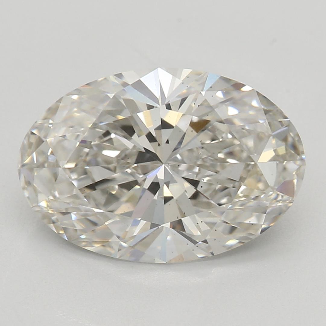 2.02 Carat I-VS2 Ideal Oval Diamond