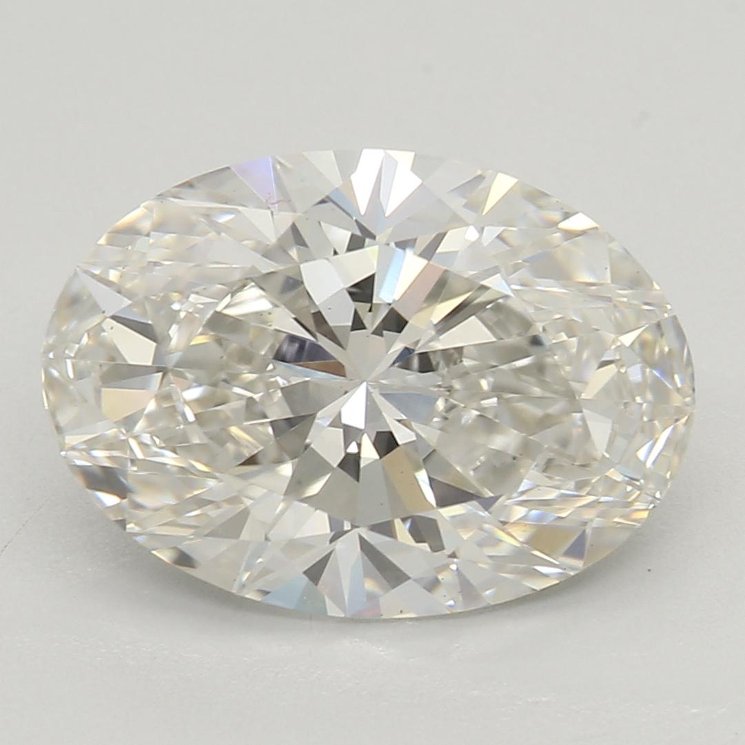 2.31 Carat H-VS2 Ideal Oval Diamond