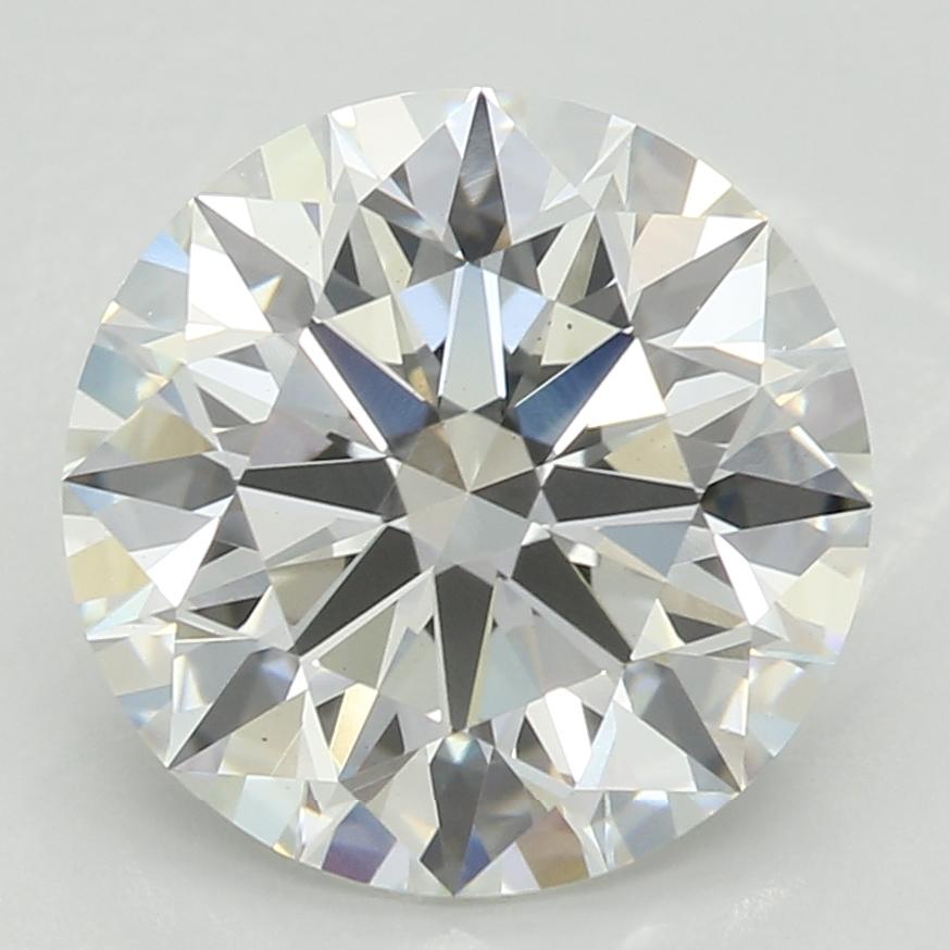 2.44 Carat G-VS1 Ideal Round Diamond