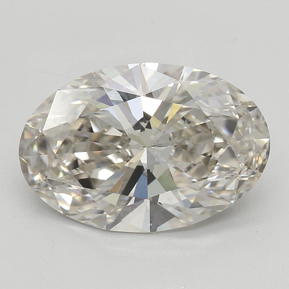 2.03 Carat J-VS2 Ideal Oval Diamond