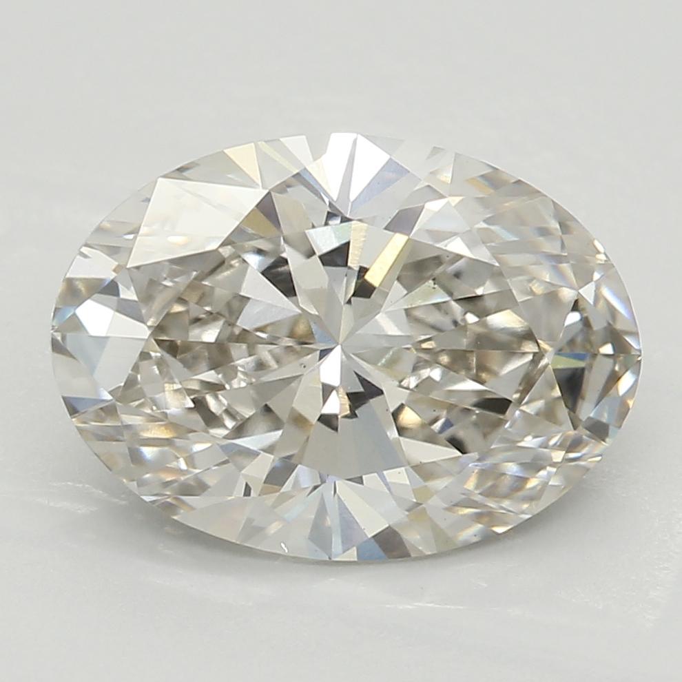 2.00 Carat I-VS1 Ideal Oval Diamond