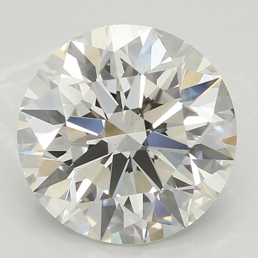 2.18 Carat H-VS2 Ideal Round Diamond