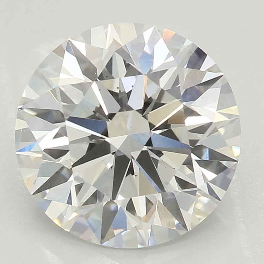 2.21 Carat G-VS2 Ideal Round Diamond