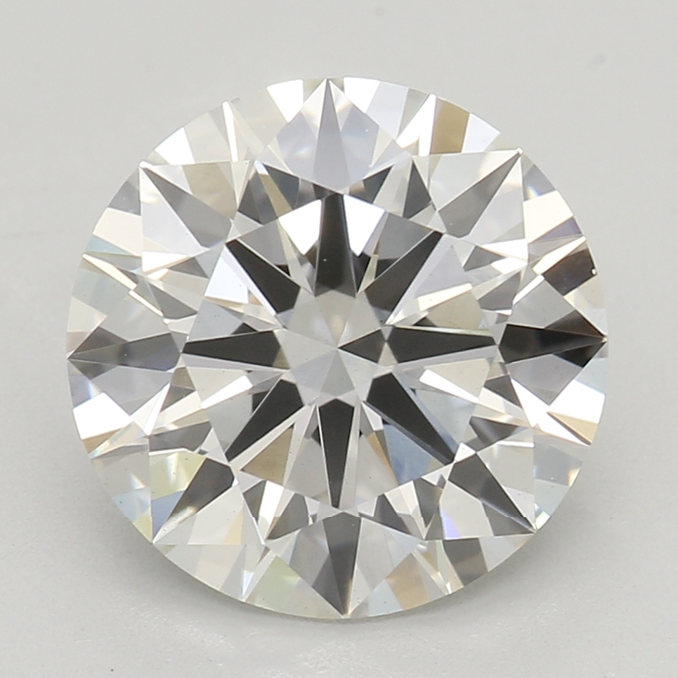 2.21 Carat H-VS1 Ideal Round Diamond