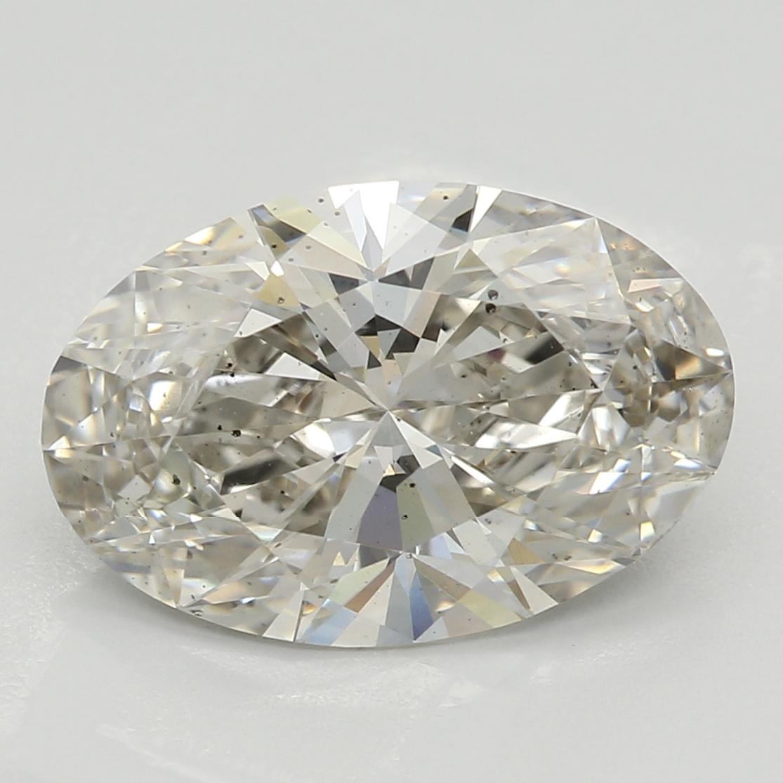 2.51 Carat J-SI1 Ideal Oval Diamond