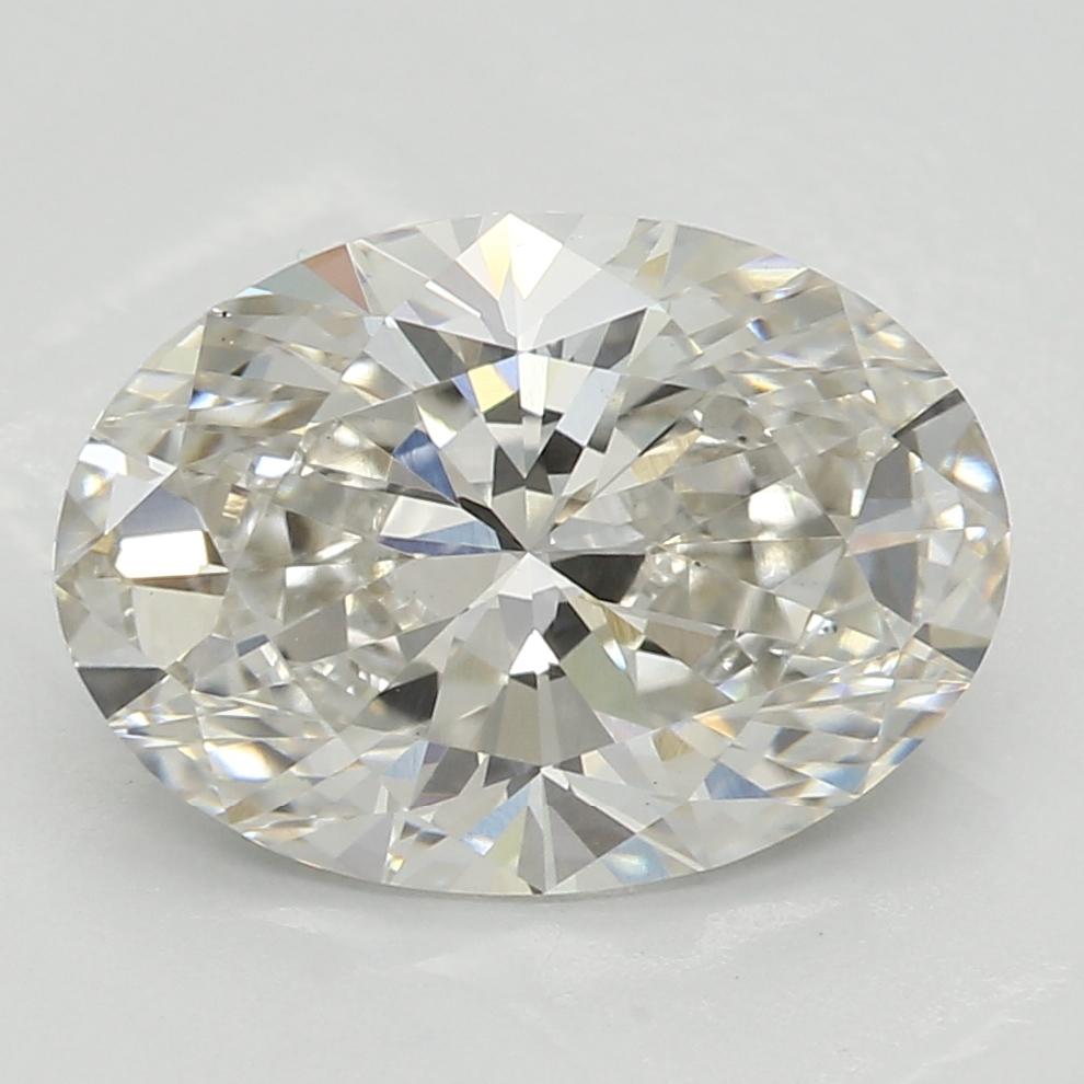 2.09 Carat I-VS1 Ideal Oval Diamond
