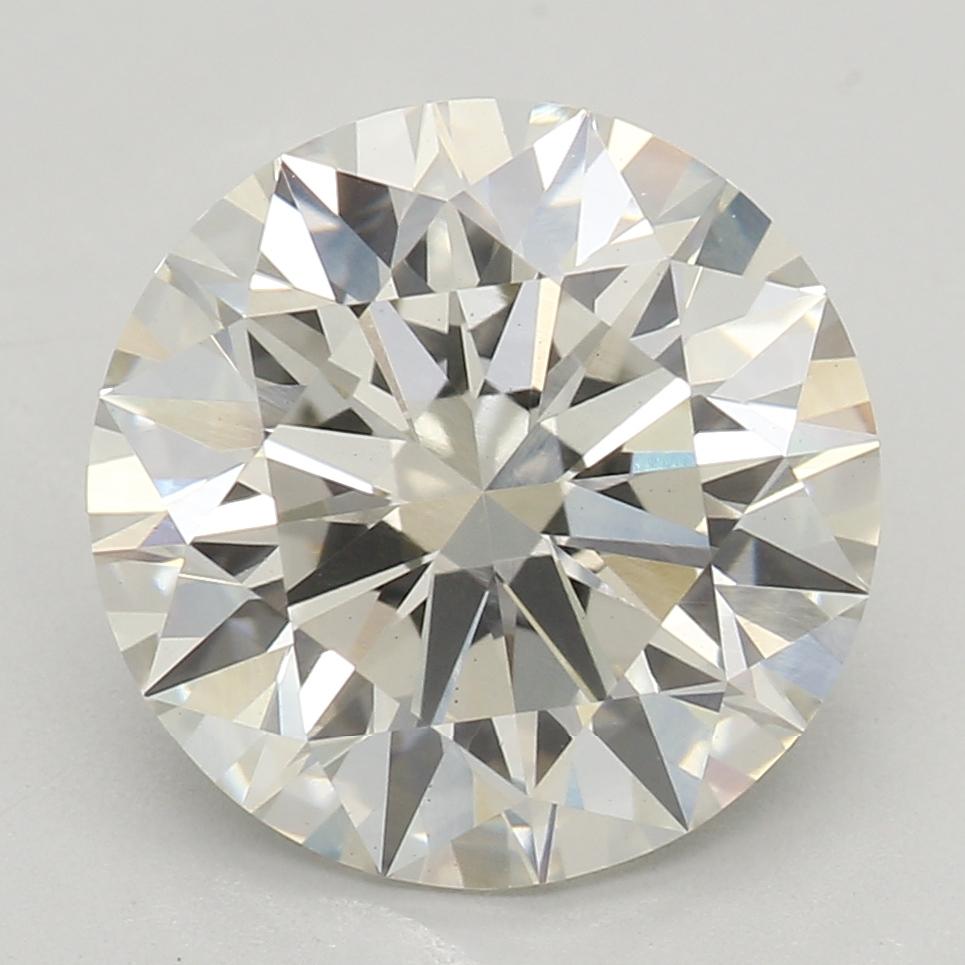 2.53 Carat I-VS1 Ideal Round Diamond