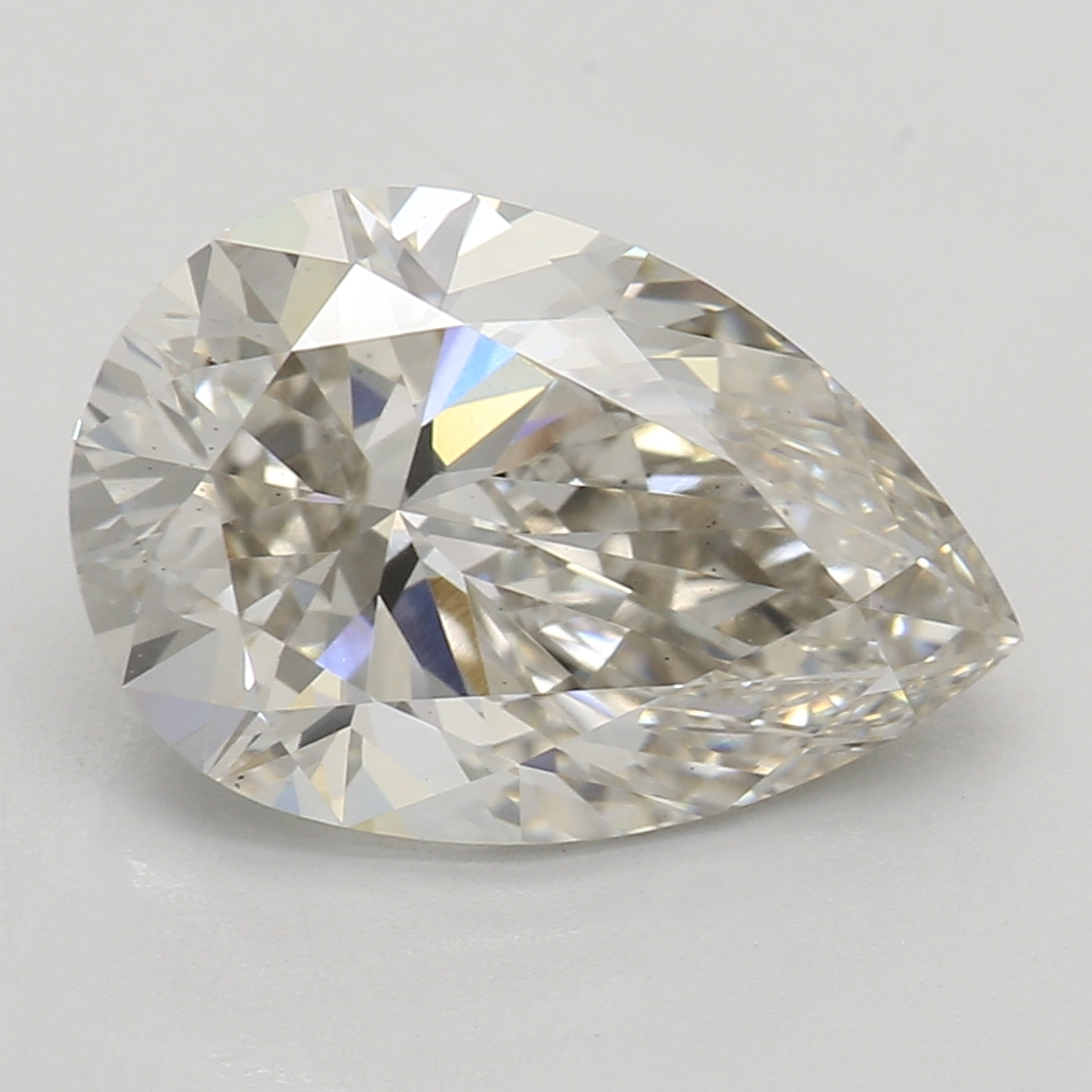 2.03 Carat J-VS2 Ideal Pear Diamond