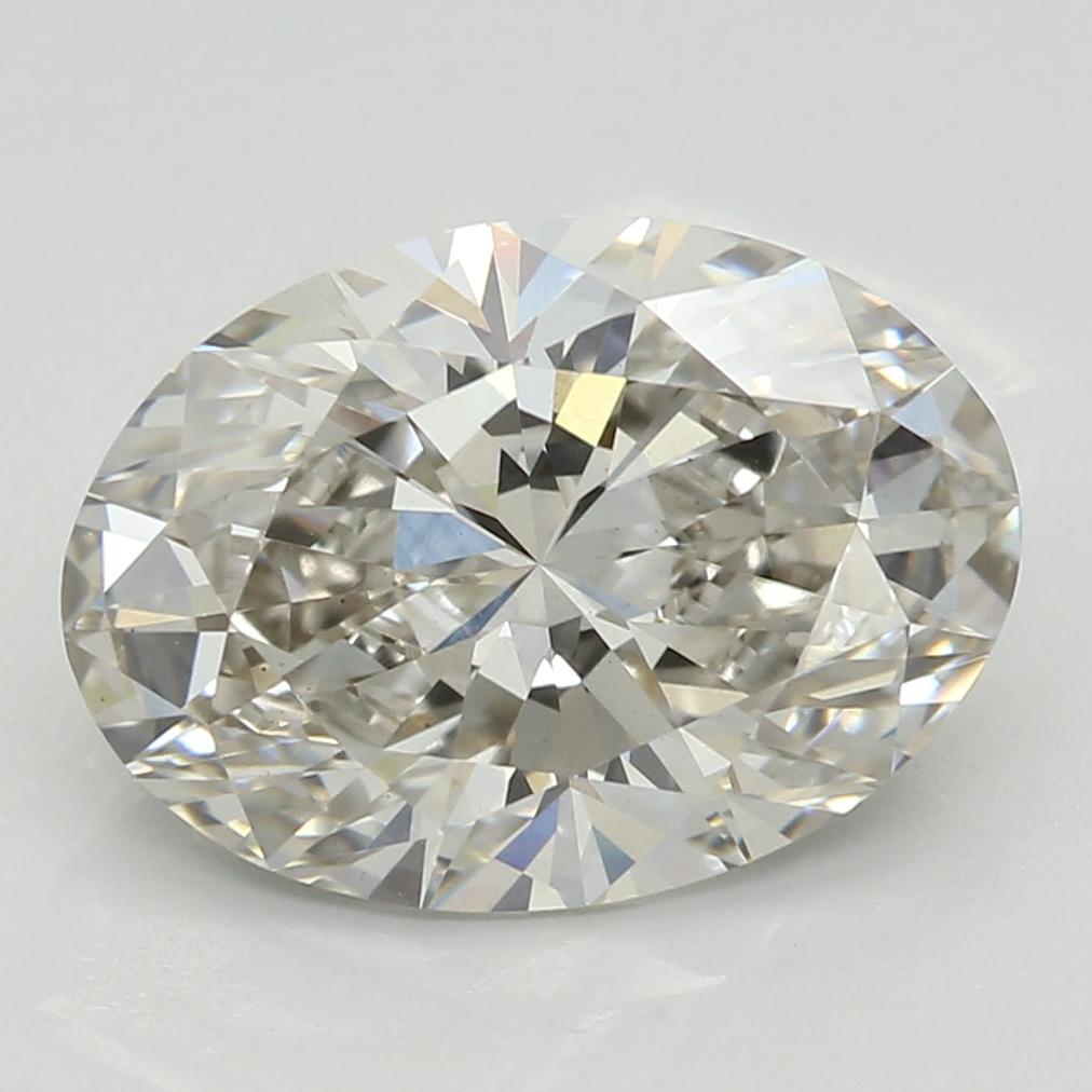2.21 Carat J-VS2 Ideal Oval Diamond