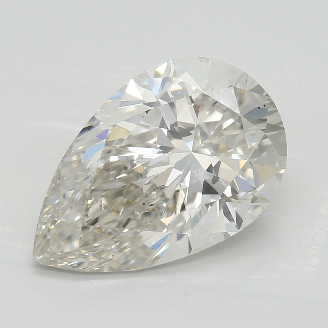 2.07 Carat I-VS2 Ideal Pear Diamond