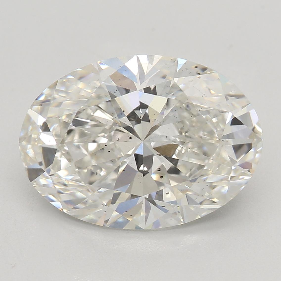 2.60 Carat I-SI1 Ideal Oval Diamond