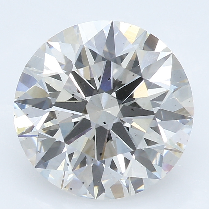 2.27 Carat H-SI1 Ideal Round Diamond