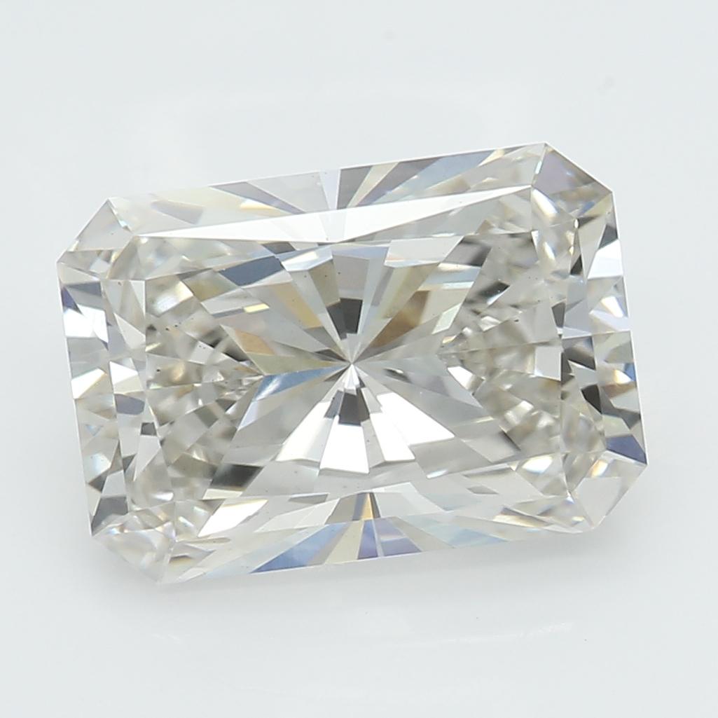 2.01 Carat J-VS1 Ideal Radiant Diamond