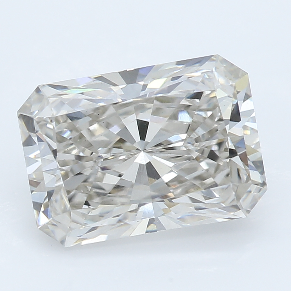 2.05 Carat J-VS2 Ideal Radiant Diamond