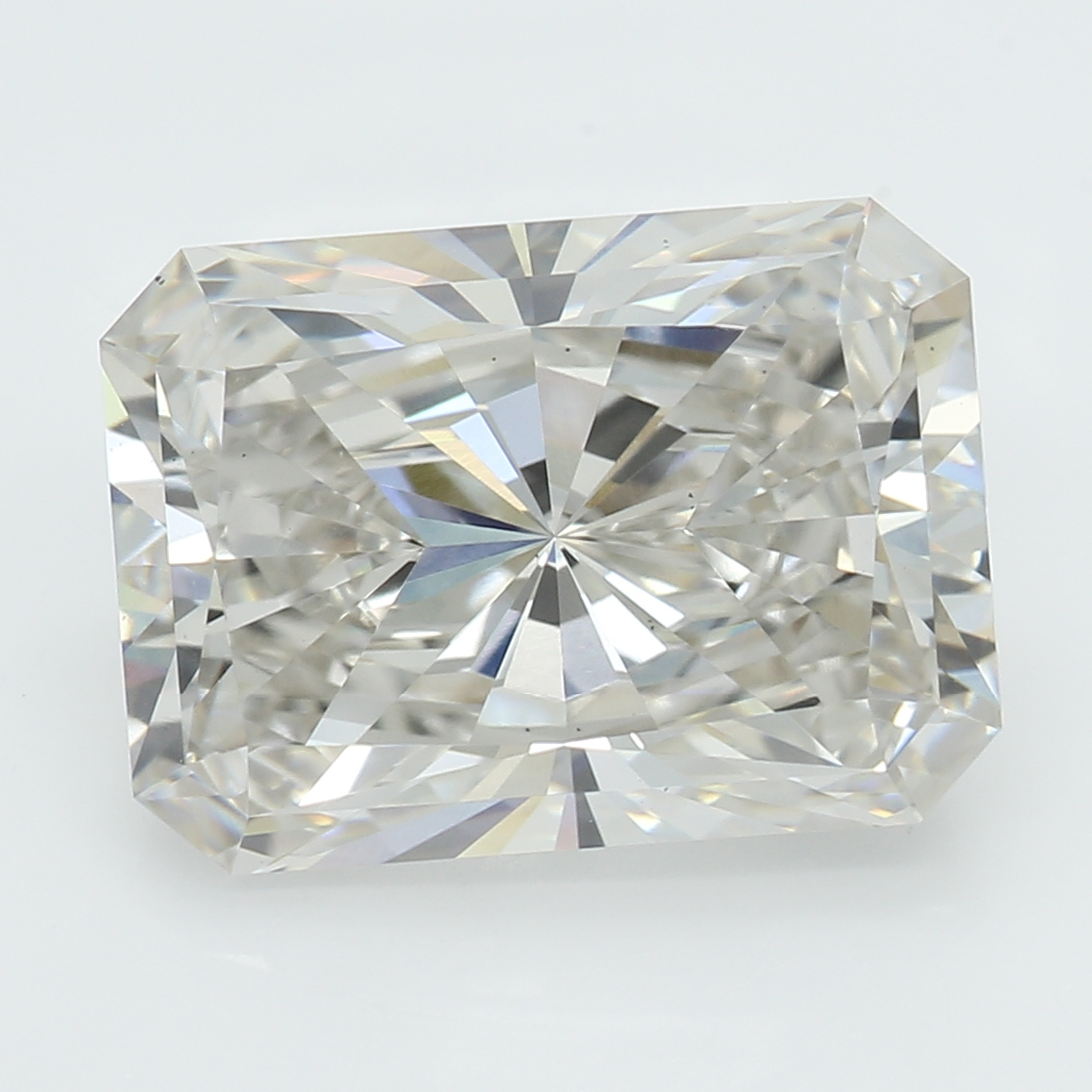 3.31 Carat I-VS1 Ideal Radiant Diamond