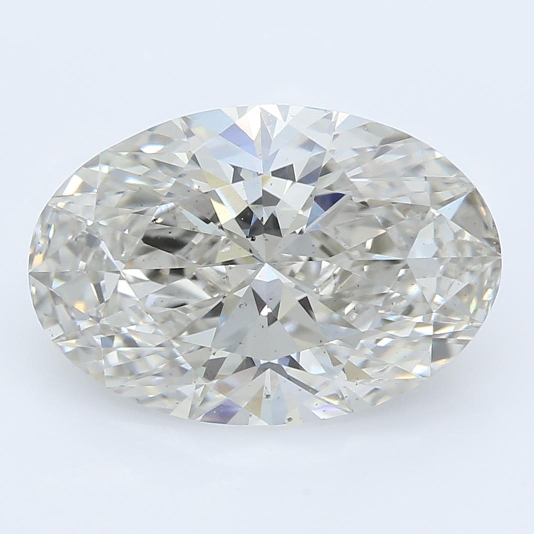 2.36 Carat I-VS2 Ideal Oval Diamond