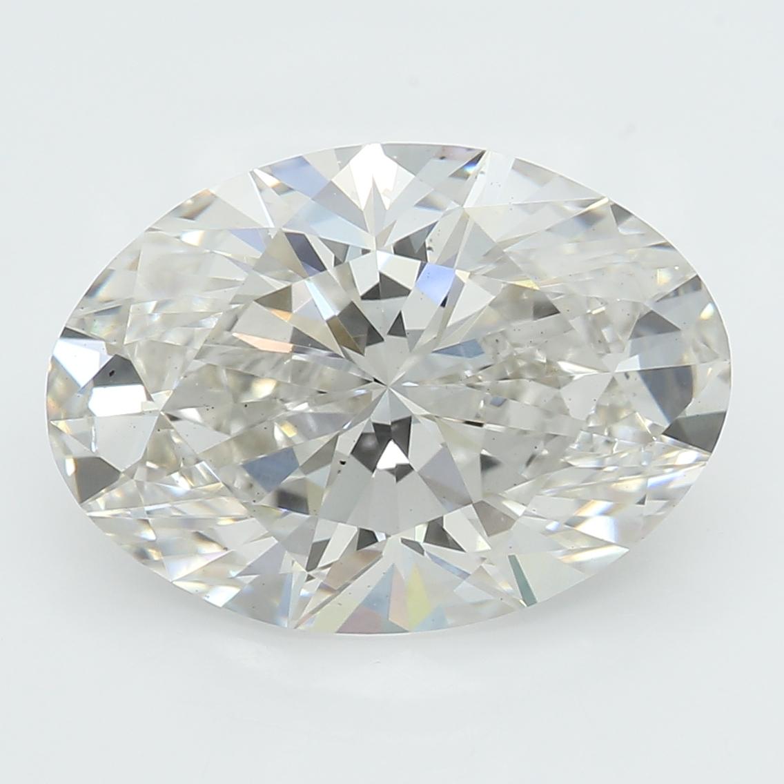 2.58 Carat I-VS2 Ideal Oval Diamond