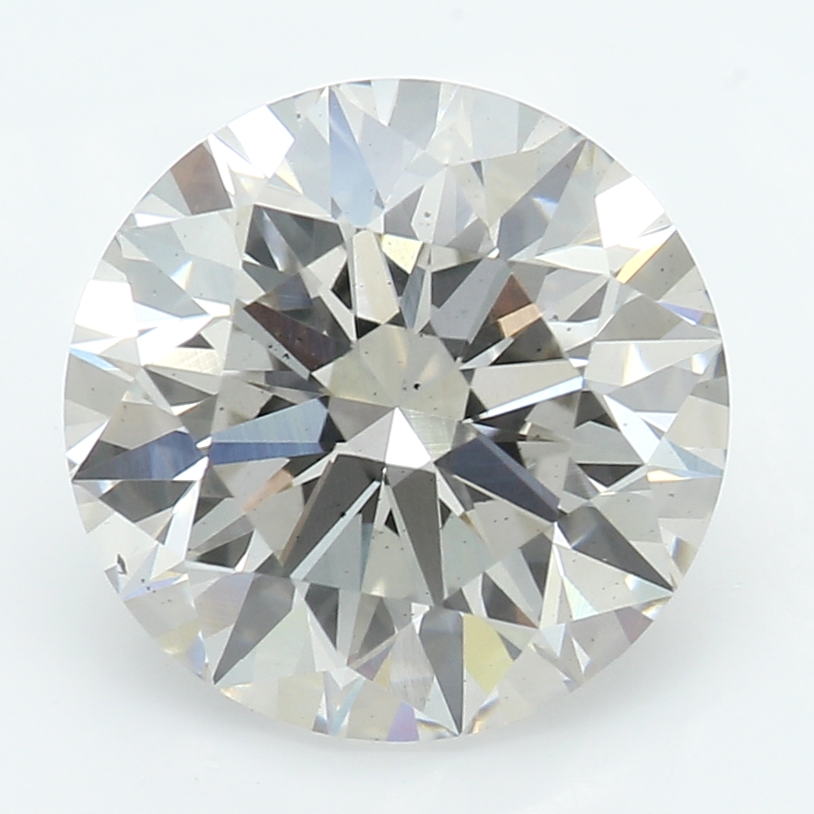 2.09 Carat J-VS2 Ideal Round Diamond