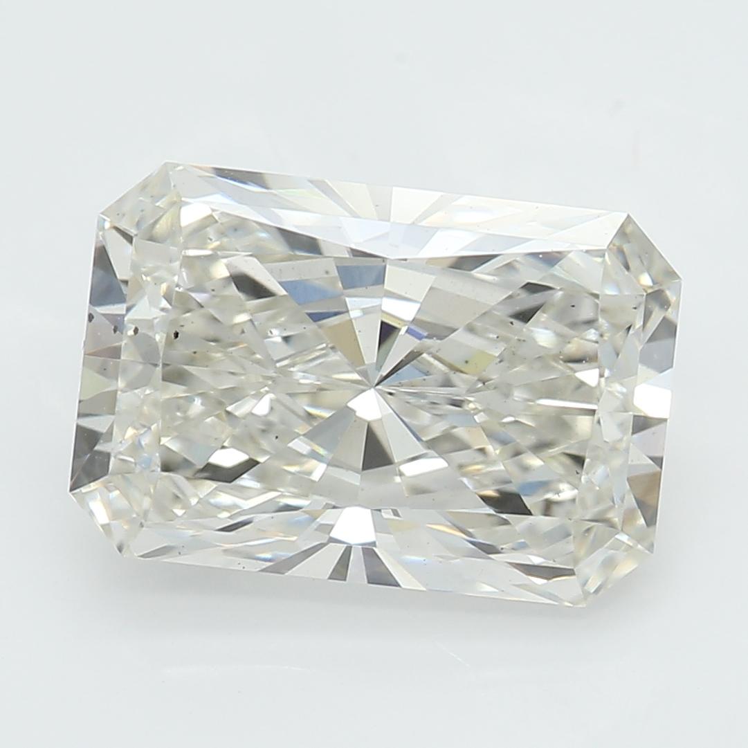 2.22 Carat J-SI1 Ideal Radiant Diamond