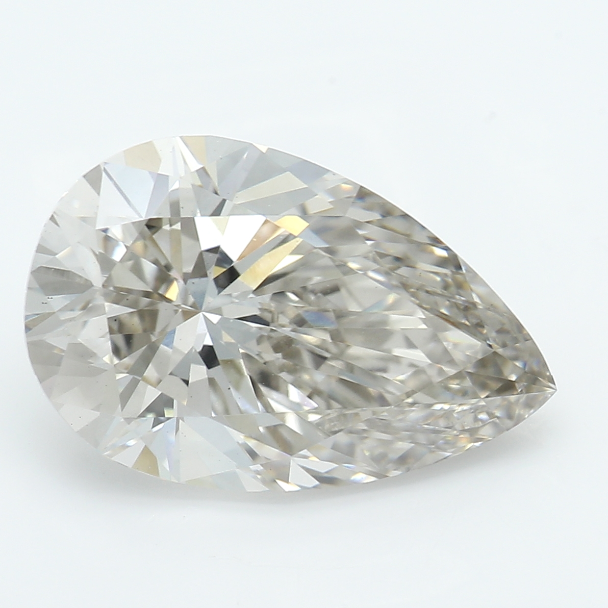2.50 Carat J-VS2 Ideal Pear Diamond