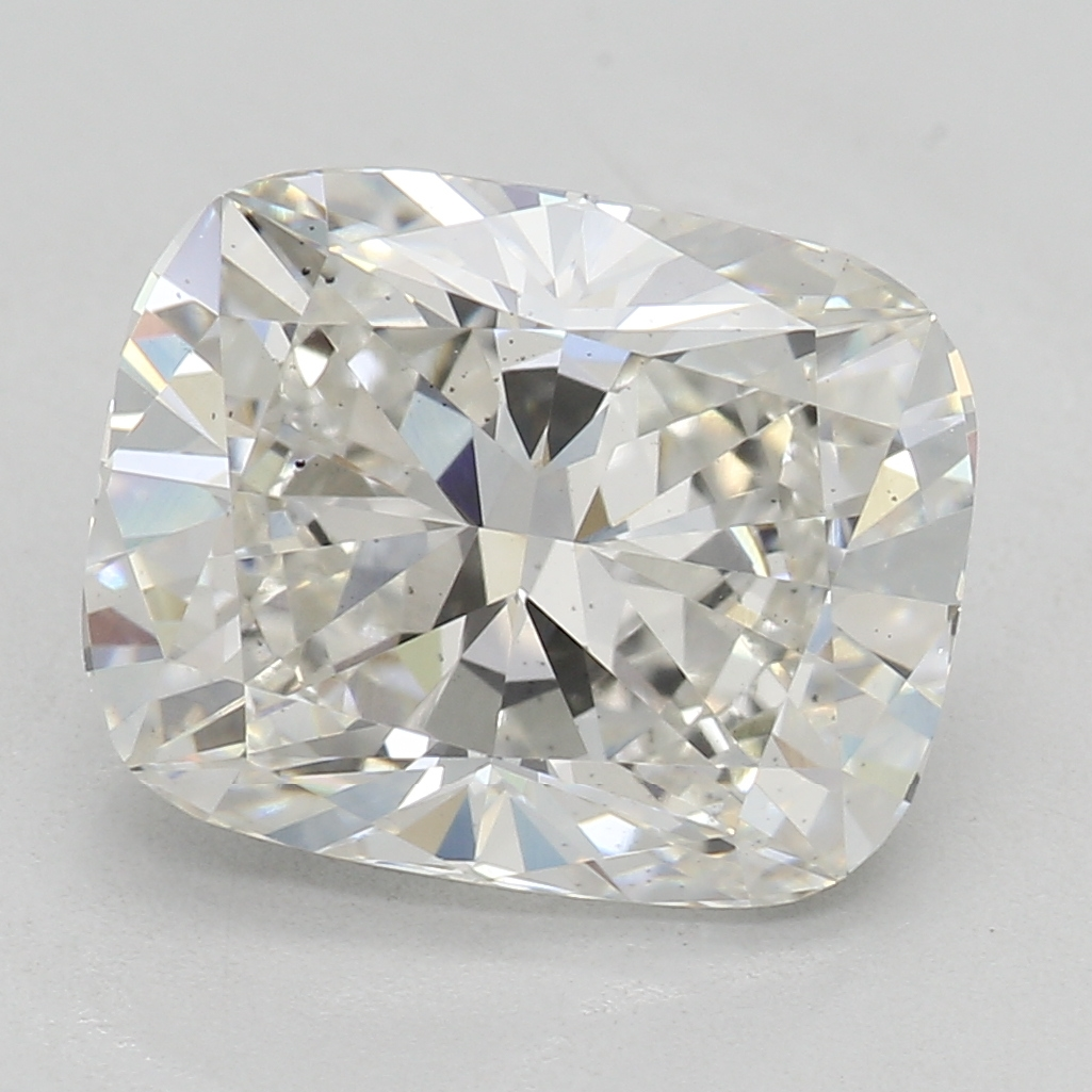 2.51 Carat H-SI1 Ideal Cushion Diamond