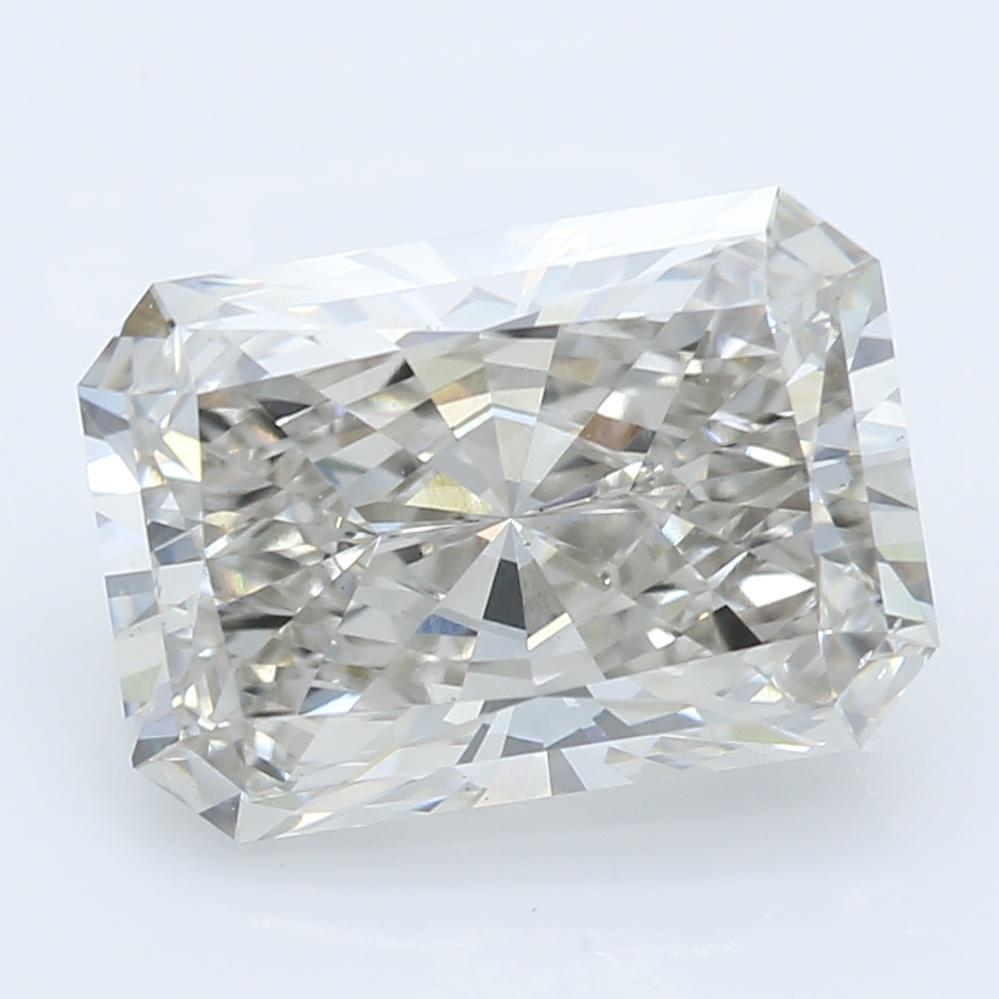 2.38 Carat I-VS2 Ideal Radiant Diamond