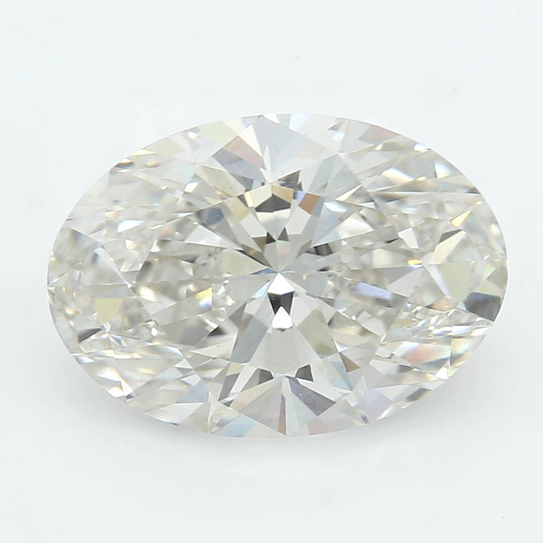 2.03 Carat I-VS2 Ideal Oval Diamond
