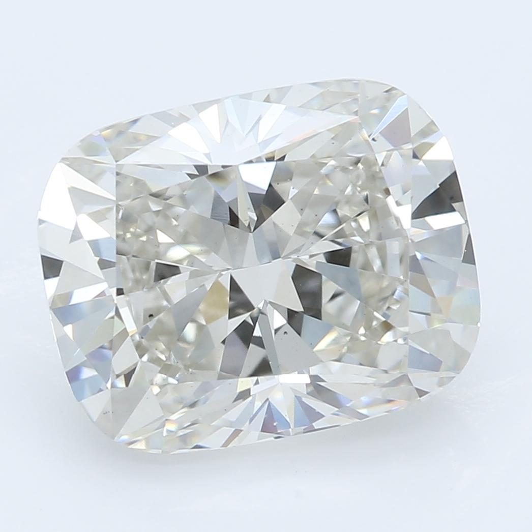 3.23 Carat J-VS1 Ideal Cushion Diamond