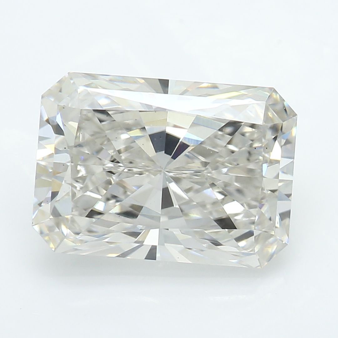 2.22 Carat I-VS2 Ideal Radiant Diamond