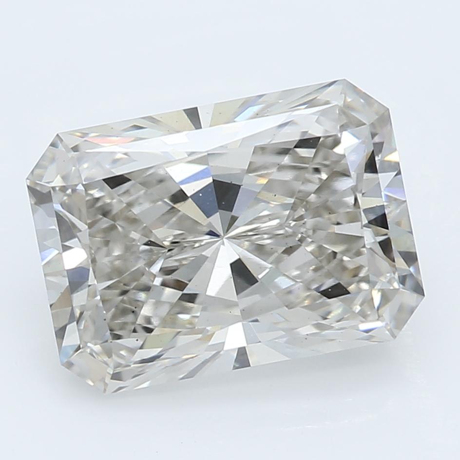 2.04 Carat J-VS2 Ideal Radiant Diamond