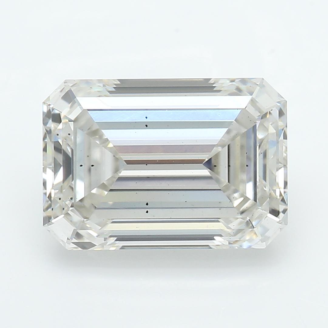 2.27 Carat I-SI1 Ideal Emerald Diamond