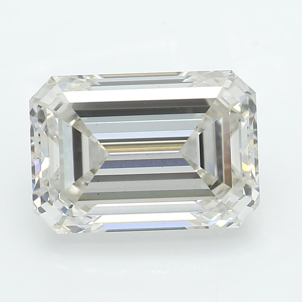2.00 Carat J-VS2 Ideal Emerald Diamond