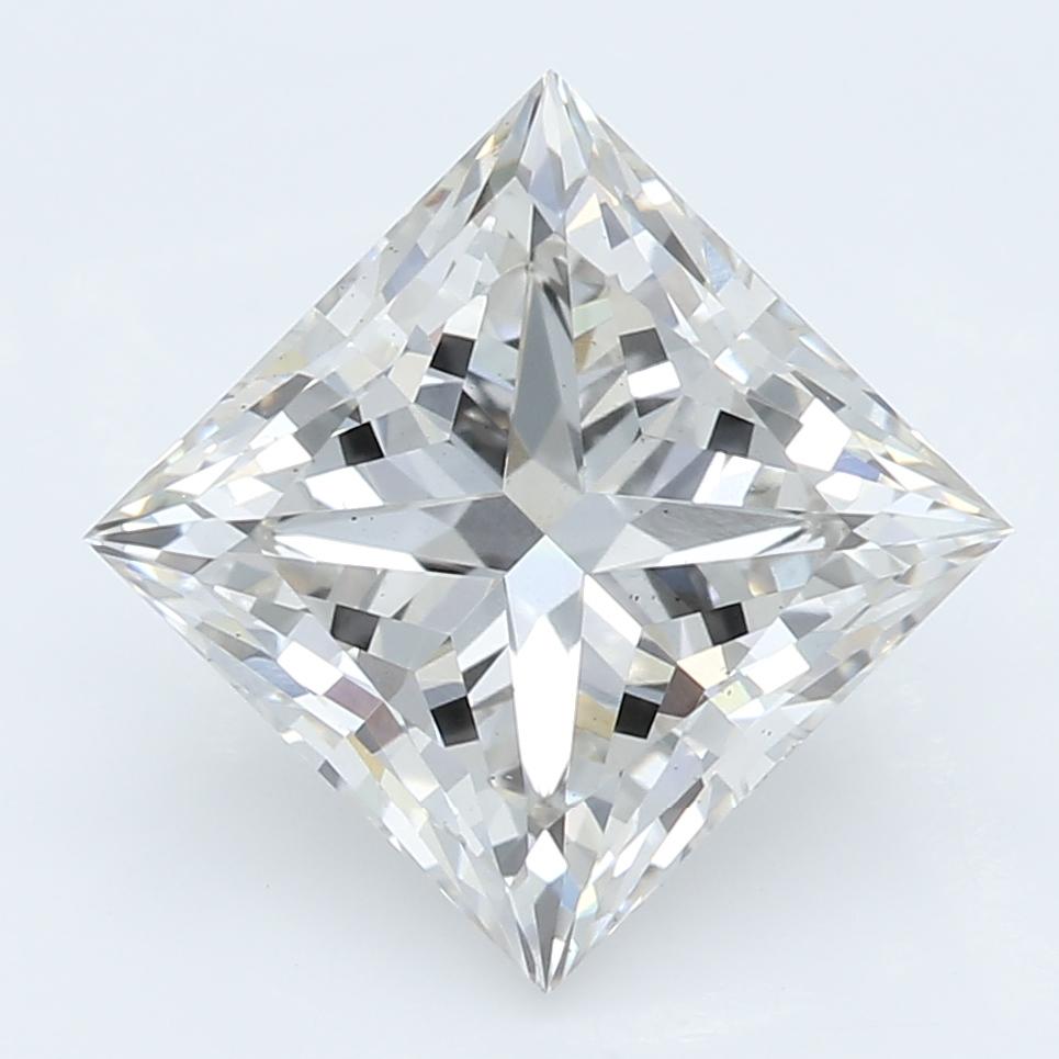 2.10 Carat J-VS2 Ideal Princess Diamond